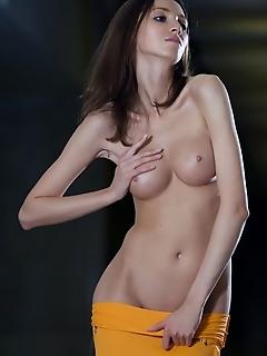 Adorable naked girl