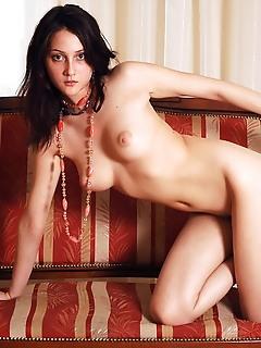 Beautiful brunette free naked nude gallery