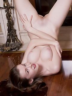Brunette perfect body
