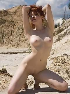 Hot redhead naked erotic girls erotica girl
