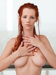 Erotica redhead nude girl photos femjoy coed