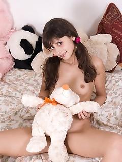 Pretty erotica teens female posing