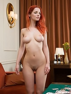redhead pokerface this weeks best of femjoy features the always sexy and exiting ariel in pokerface. Truth is, shes not a bad poker player, and has a