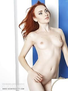 Sexy redhead sailor babe