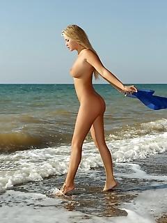 Hottie on the seaside