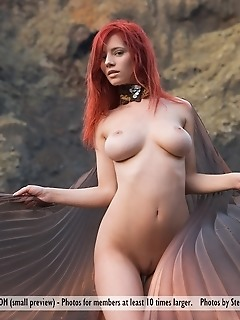 redhead big tits diablo de fuego diablo de fuego (fire devil in spanish) is the title of this new ariel set, and the name couldnt be more appropriate.