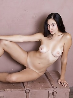 Naked and playful