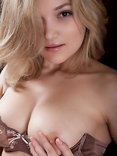 Huge breasted cutie