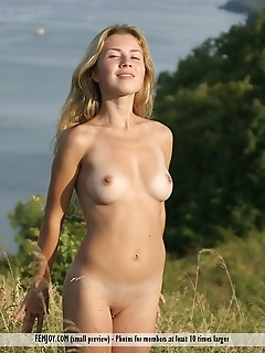 Free femjoy blonde pictures outdoor, outdoors, natural, nature ocean, sea