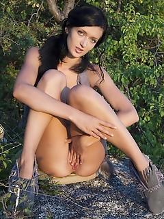 Perfect girlfriend posing