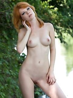 Erotica redhead tiny pussy erotica