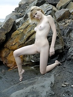 Blonde mermaid