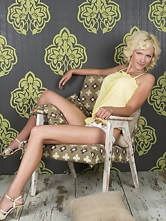 Stripping in the armchair